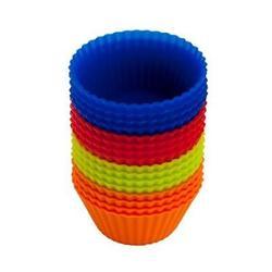 Форма силиконовая Кекс мини 4,5х2,2 см. 16 шт. Vetta 1