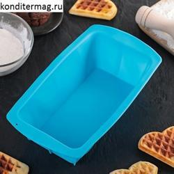 Форма для выпечки хлеба 22х11х6 см. силикон Доляна 1