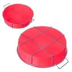 Форма силиконовая Круг 25x6 см. на подставке Vetta 1
