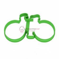 Формочка для печенья Велосипед 11х5,5 см. пластик 1