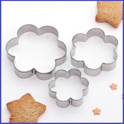 Формочка для печенья Цветок 3 шт. металл 1