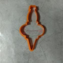 Формочка для печенья Елочная сосулька 11х5,5 см. 1