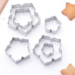 Формочка для печенья (каттер) Лепестки петуньи 6 шт. 1