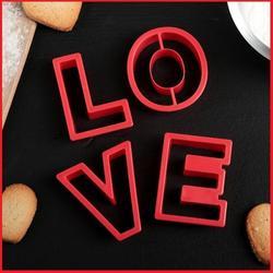 Формочка для печенья LOVE Доляна 1