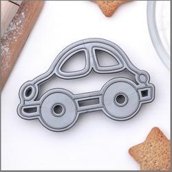 Формочка для печенья Машинка 9,5х5,5 см. пластик 1