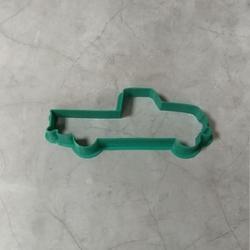 Формочка для печенья Машинка пикап 11 см. Любимова 1