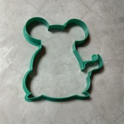 Формочка для печенья Мышка символ года 10х10 см. 55116 1