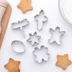 Формочка для печенья Пасхальный микс 6 шт. металл 1
