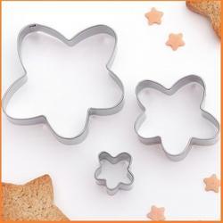Формочка для печенья Ромашка 3 шт. металл 1