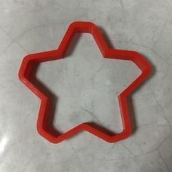 Формочка для печенья Звезда 10х9 см. 1
