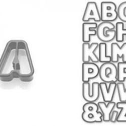 Формочка для печенья Азбука 34 шт. Delicia 3