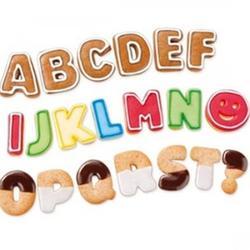 Формочка для печенья Азбука 34 шт. Delicia 1