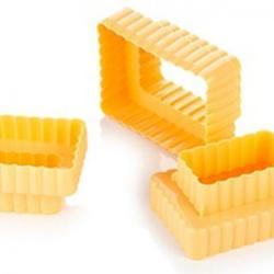 Формочка для печенья 2-стор. Печенье 3 шт. пластик 2