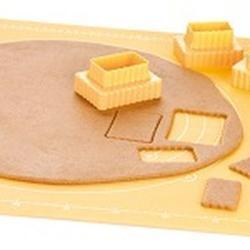 Формочка для печенья 2-стор. Печенье 3 шт. пластик 4