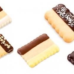Формочка для печенья 2-стор. Печенье 3 шт. пластик 3