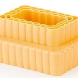Формочка для печенья 2-стор. Печенье 3 шт. пластик 6