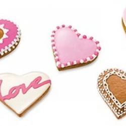Формочка для печенья 2-стор. Сердце 3 шт. пластик 5