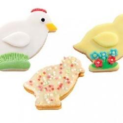 Формочка для печенья Цыплята 4 размера Tescoma Delicia 1