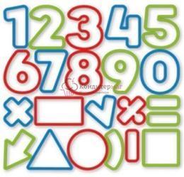 Формочка для печенья Цифры 21 шт. Delicia Kids 1