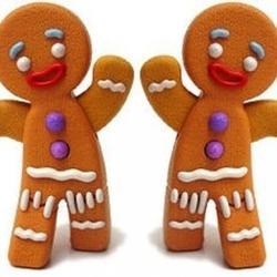 Формочки для вырезания печенья Человечки 2 размера Zenker 1