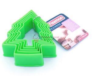 Формочка для печенья Елка 5 шт. пластик Fissman 1