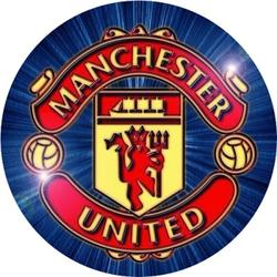 Вафельная картинка Футбол Манчестер 1