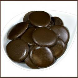 Глазурь конд. Шокомилк Темный шоколад №77 17% какао 200 г. диски 1