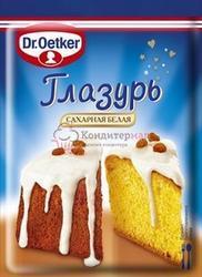 Глазурь кондитерская сахарная Белая Dr.Oetker 100 г. 1