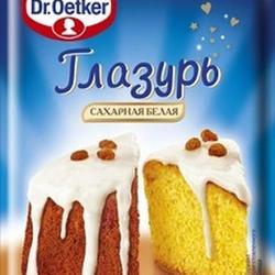Глазурь Dr. Oetker Белая 100 г. 1
