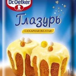Глазурь Dr. Oetker Желтая 100 г. 1