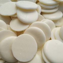 Глазурь белая шоколадная Топковер диски 20 мм. 200 г. 2