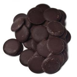 Глазурь темная шоколадная Топковер диски 20 мм. 200 г. 1