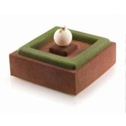 Форма силиконовая Квадрат для декора 4х26х1 см. Silikomart 2