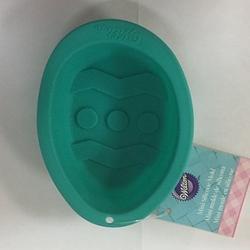 Форма для выпечки Яйцо 9х7 см. силикон Вилтон 1