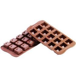Форма для конфет Изи-шок Куб Silikomart 1