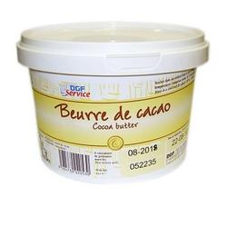 Какао-масло DGF Service 1 кг. ведро 2