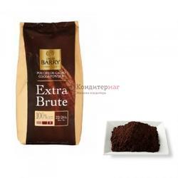 Какао-порошок 22-24% алкализованный Extra-Brute Barry Callebaut 250 г. 1