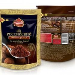 Какао порошок для десертов Российский 100 г., 1