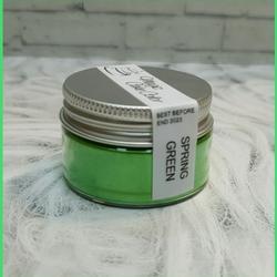 Краситель сухой блестящий плотный Зеленая весна 10 г. Magic Cake Color 1