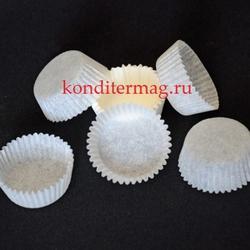 Форма бумажная 30х15 мм. 50 шт. белая 1