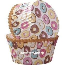 Набор форм и топперов Пончики 48 шт. 2