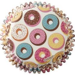 Форма для кексов бумажная круглая Пончики 5 см. 75 шт. Вилтон 3