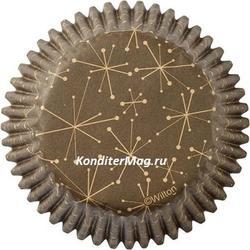 Форма для кексов бумажная круглая Пончики 5 см. 75 шт. Вилтон 4