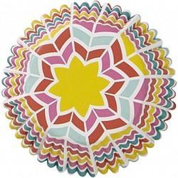 Форма для кексов бумажная круглая Радуга 5х3 см. 36 шт. Вилтон 1