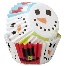 Форма для кексов бумажная круглая Счастливый праздник 3 см.100 шт. Вилтон 1