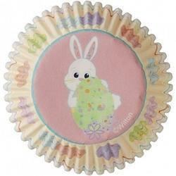 Форма для кексов бумажная круглая Сладкие брызги 5 см. Wilton 75 шт. 1