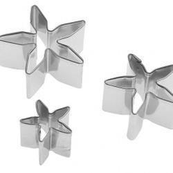 Формочка для мастики Нарцисс 3 шт. металл 1