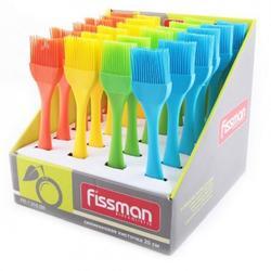 Кисть кондитерская 20х4 см. силикон Fissman 1