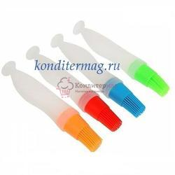 Кисть кондитерская 17 см. для масла силикон 1