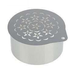 Форма Кольцо 8х4 см. с трафаретом Клумба 4